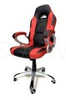 Fotel XRacer czerwono-czarny