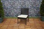 Krzesło ogrodowe z poduszką