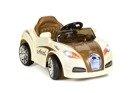 Pojazd akumulatorowy Bugatti - BROWN