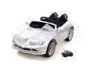 Pojazd elektryczny, na akumulator Mercedes SLR McLaren 722 na licencji - srebrny