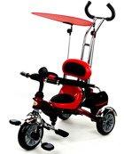 Rowerek Trójkołowy PATY BIKE II - czerwony
