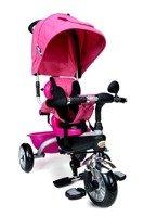 Rowerek Trójkołowy PATY BIKE PLUS - różowy