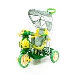 Rowerek trójkołowy dla dzieci pszczoła zielona