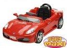 SPORTCAR Czerwony, pojazd akumulatorowy dla dzieci + PILOT + MP3
