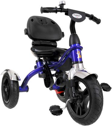 Rowerek trójkołowy z obracanym siedziskiem TROLLEY - niebieski
