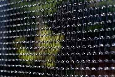 Trampolina ogrodowa dla dzieci 490cm z siatką zewnętrzną i drabinką