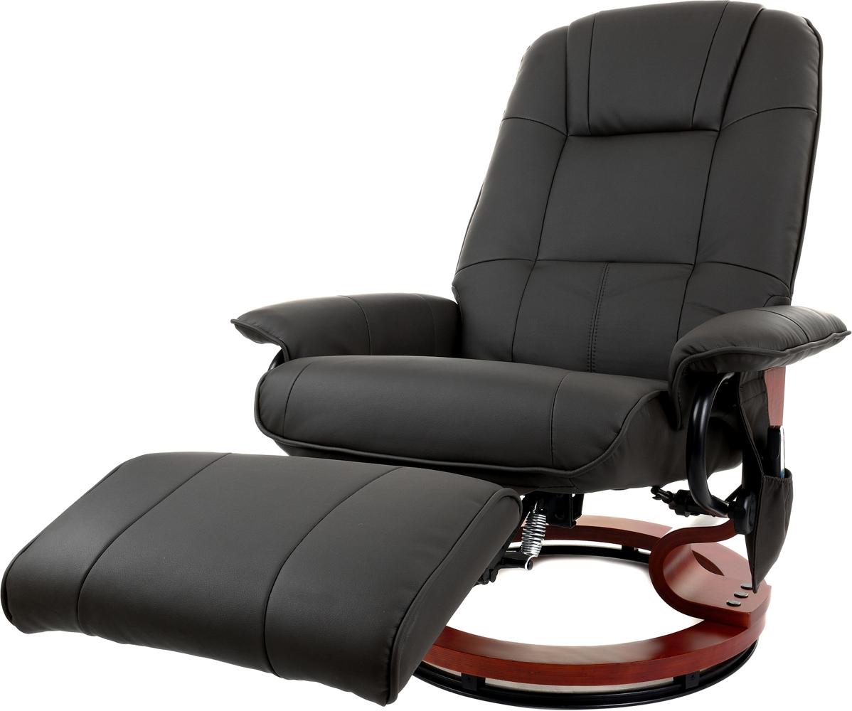 Fotel Tv Wypoczynkowy Z Masażem Grzaniem I Podnóżkiem