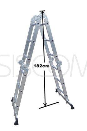 Drabina Aluminiowa 4x3