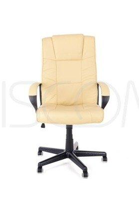 Fotel Biurowy ECO KANCLERZ - beżowy