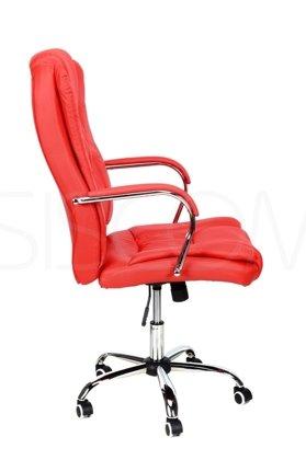 Fotel biurowy MAX - czerwony