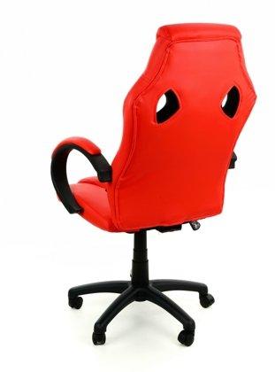 Fotel biurowy XRacer PRO czerwono-czarny
