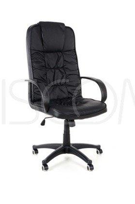 Fotel biurowy skórzany BOSS