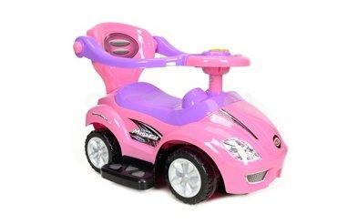 Jeździk, pchacz dla dzieci BabyMaxi - różowy