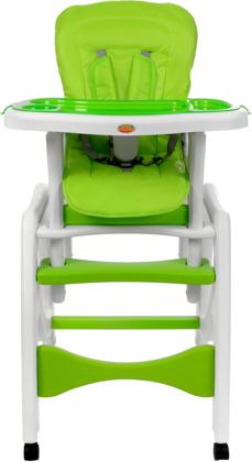 Krzesełko do karmienia 5w1 + stolik BABYMAXI - ZIELONE