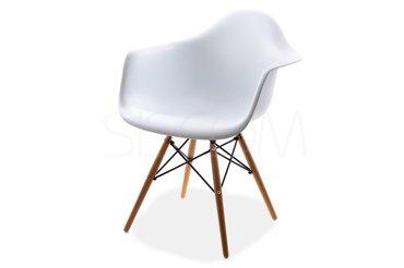 Krzesło - Fotel Cleo biały