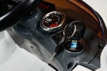 Pojazd Akumulatorowy CABRIO - biało - granatowy