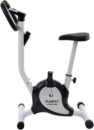 Rower treningowy mechaniczny Funfit Czarno-Biały
