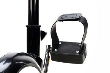 Rower treningowy mechaniczny - czarny