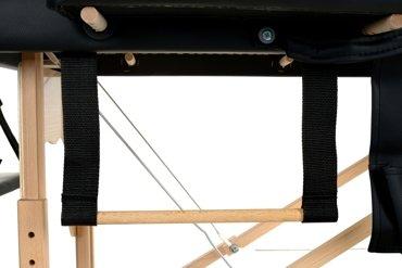 Stół, łóżko do masażu 2 segmentowe drewniane