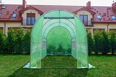 Tunel Foliowy ZIELONY z oknami - 10m2 = 400*250*200
