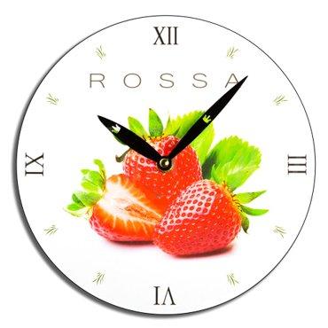 Zegar ścienny Rossa - truskawki