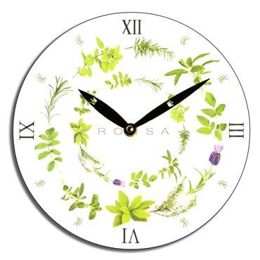 Zegar ścienny Rossa - zioła